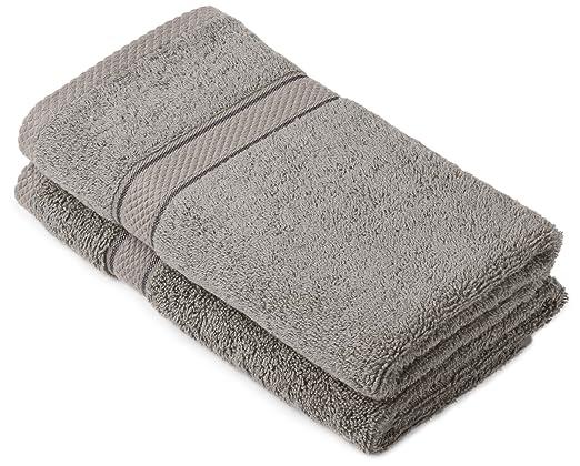 118 opinioni per Pinzon by Amazon- Set di asciugamani in cotone egiziano, 2 asciugamani per le