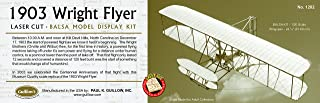 product image for Guillow's 1903 Wright Brother Flyer Laser Cut Model Kit