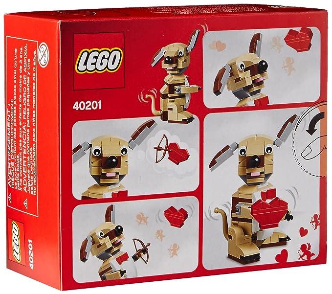 Amazon Lego Bricks More Valentines Cupid Dog 40201 Building