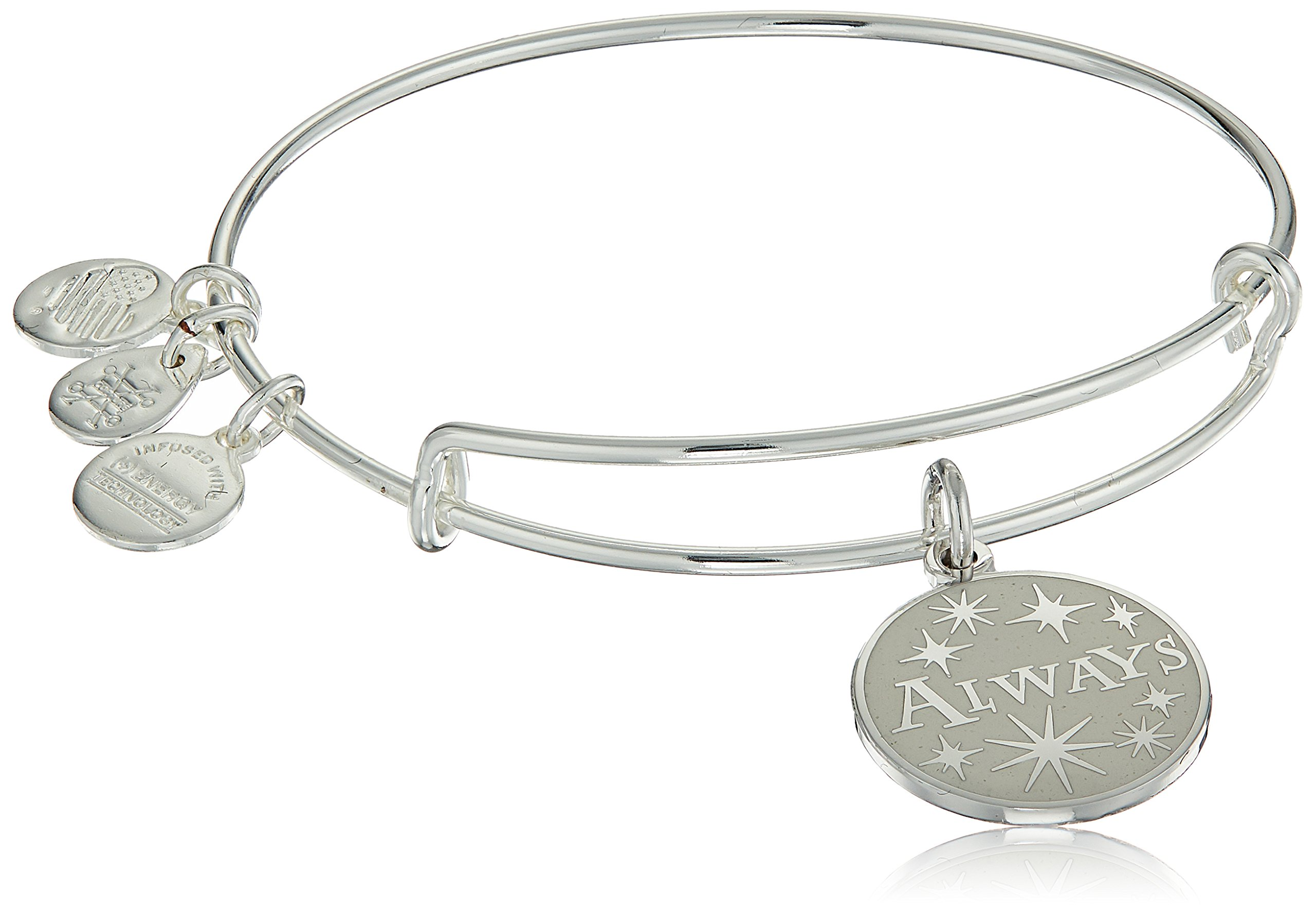Alex and Ani Harry Potter, Always EWB, Shiny Silver, Expandable