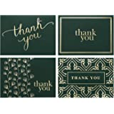 100 Thank You Cards Bulk - Thank You Notes - Blank Note Cards with Envelopes - Perfect for Business, Wedding, Graduation…