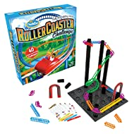 Think Fun Roller Coaster Challenge STEM Toy and Building Game for Boys and Girls Age 8 and Up – TOTY Game of the Year Finalist