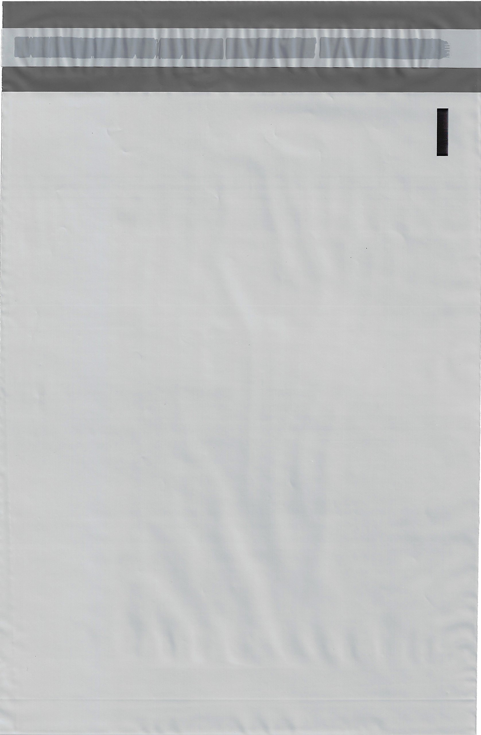 Valuemailers 2.5 Mil Poly Mailers Envelopes Bags, 10x13-inch, 100 Bags, White