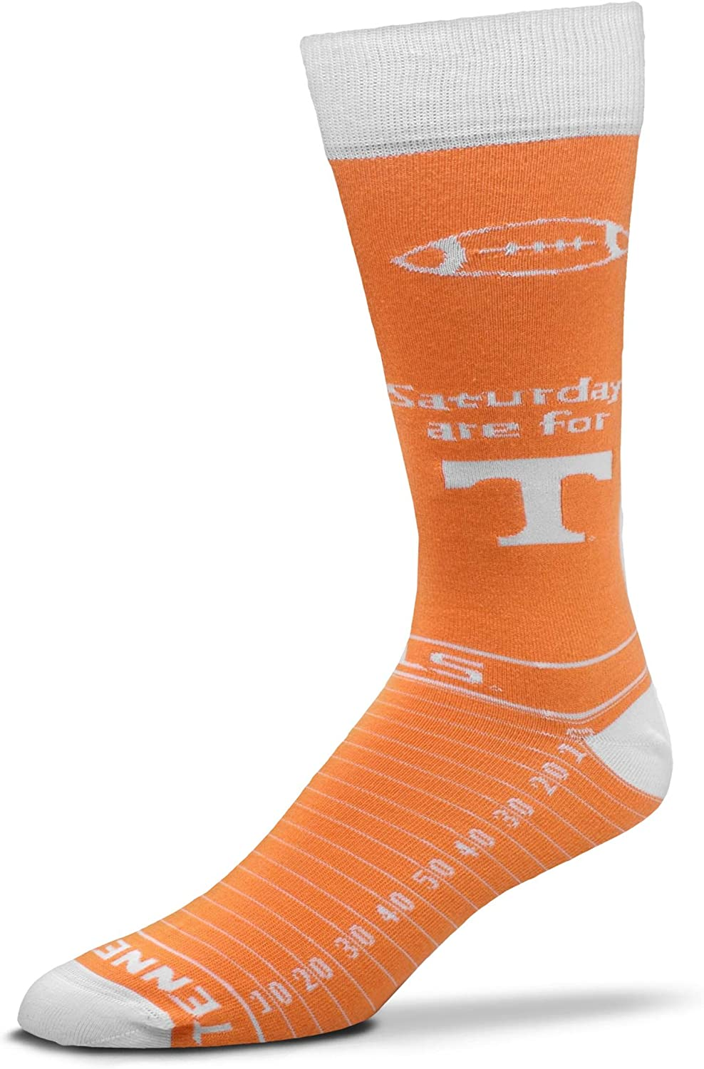 For Bare Feet NCAA Saturday Gameday Dress Socks
