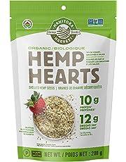 Manitoba Harvest Organic Hemp Hearts Raw Shelled Hemp Seeds, 200g; with 10g Protein & 12g Omegas per Serving, Non-GMO, Gluten Free