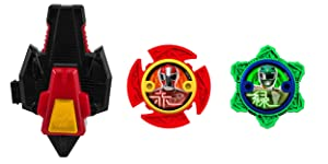 Power Rangers Super Steel Ninja Power Star Pack, Red Ranger