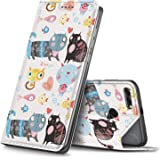 Premium Flip Case Cover for Huawei Y9 2018, Pattern-14