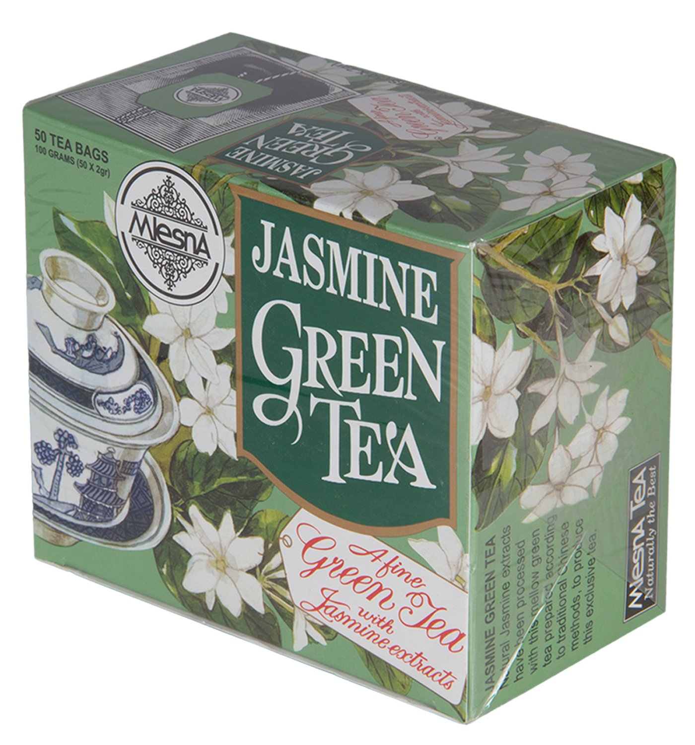 Mlesna flavoured green tea jasmine 100g amazon grocery mlesna flavoured green tea jasmine 100g amazon grocery gourmet foods izmirmasajfo Images