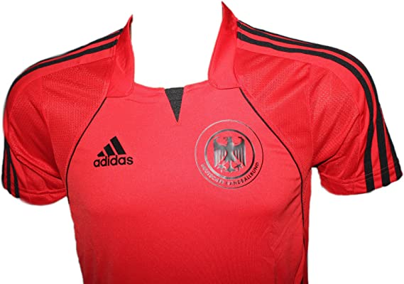 adidas DHB Camiseta Nacional Balonmano, tamaño: L - Rojo, S: Amazon.es: Deportes y aire libre