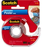 Scotch Removable Poster Tape 1.9cm x 3.8m 109