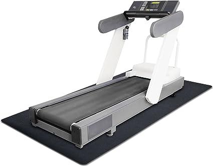 "36/""*78/"" Indoor PVC Treadmill Fitness Mat Gym Exercise Bike Trainer Carpet Tool"