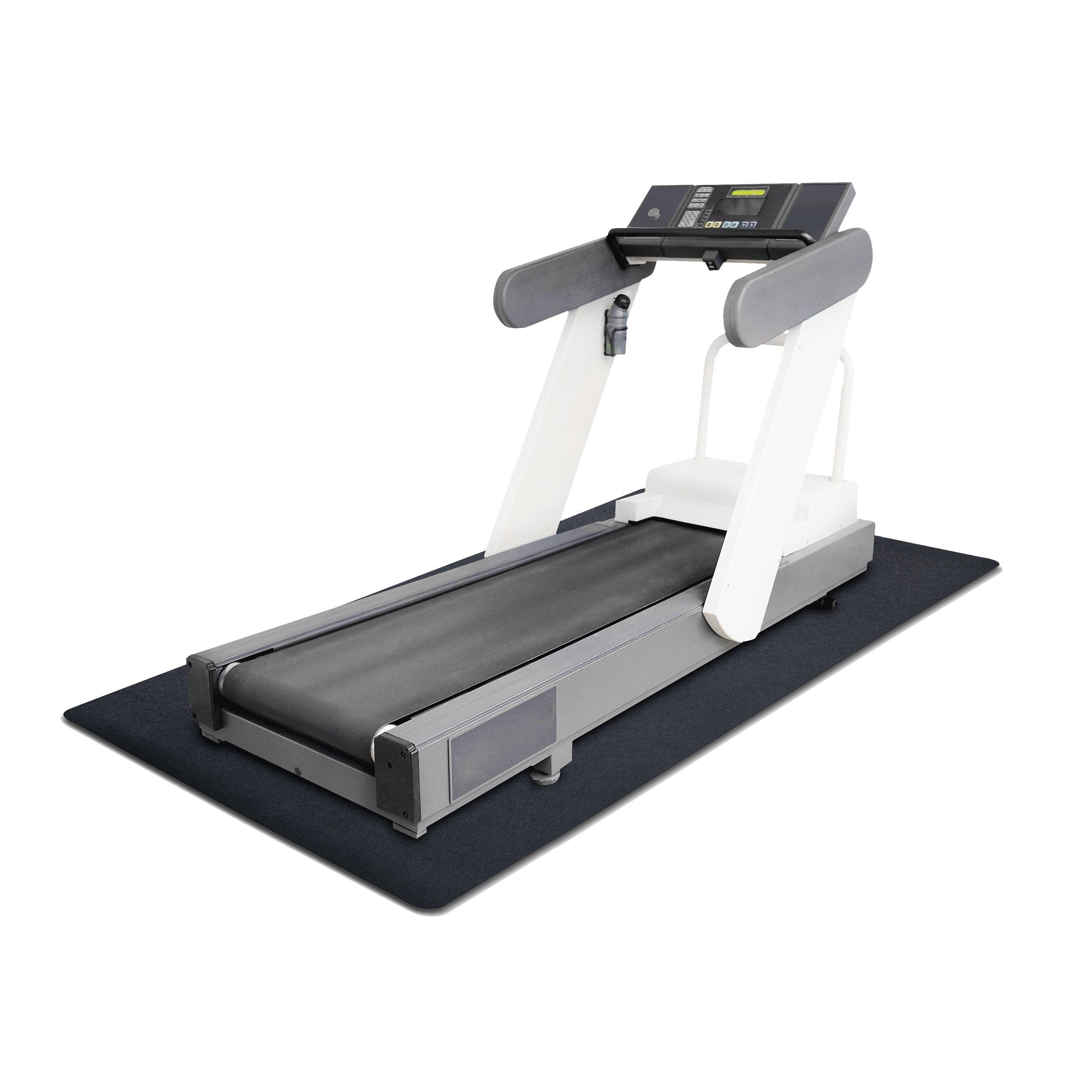 MotionTex 8M-110-36C-7 Fitness Equipment Mat, 36'' x 84'', Black