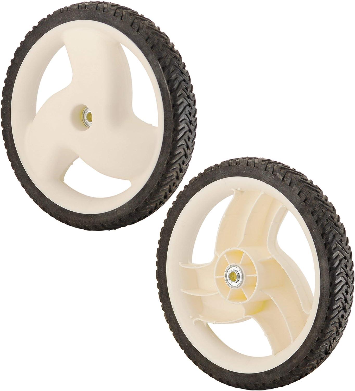 Amazon.com: Conjunto de 2 ruedas de sustituye Toro alta 12 ...