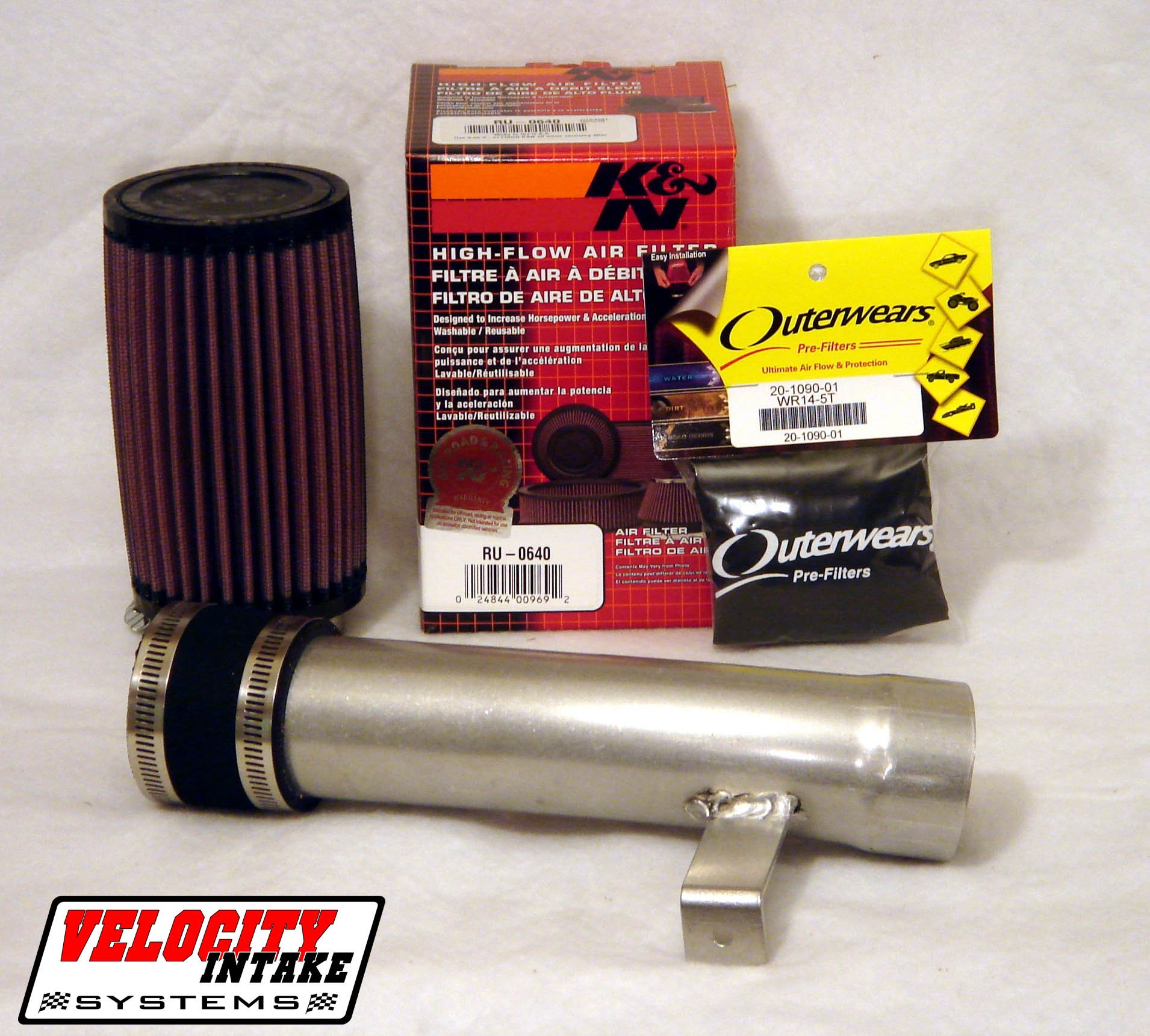 Malone Motorsports VelI-400ex-1 Honda 400ex Velocity Intake System with K&N Filter by Velocity Intake Systems