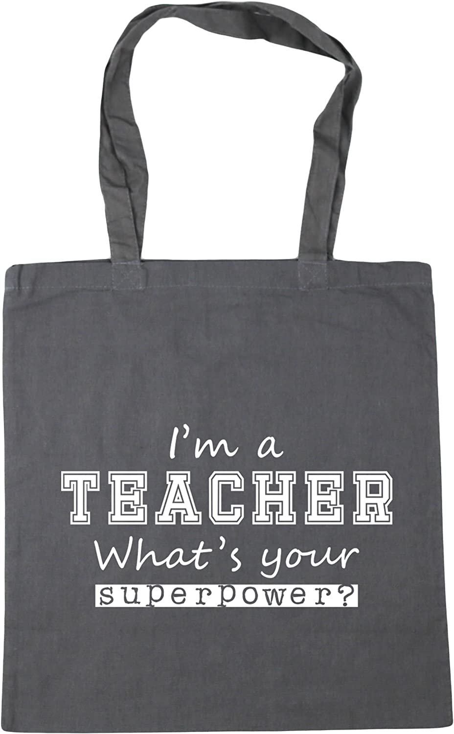 Shopper Shoulder I/'m A Teacher What/'s Your Superpower Large Beach Tote Bag