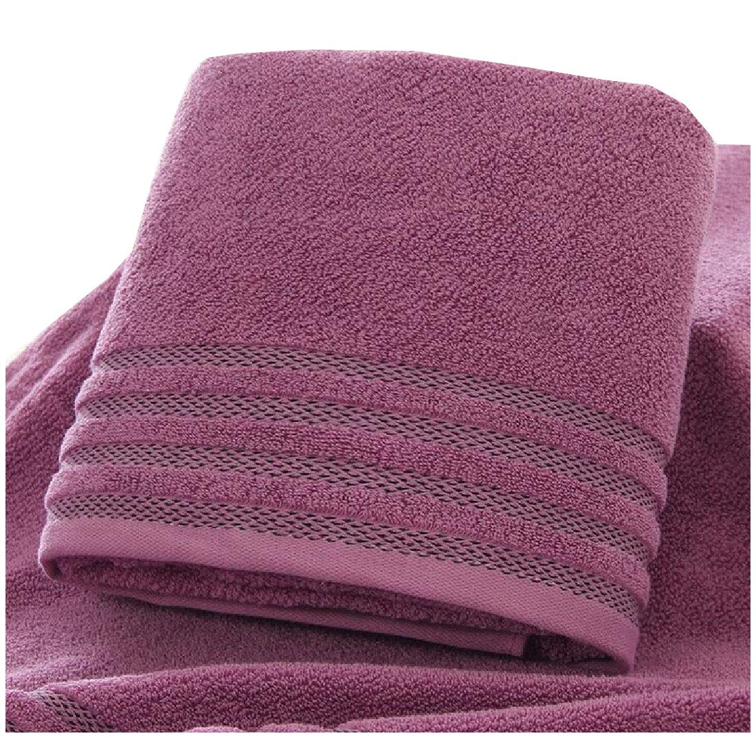 YUNY Thicken Ideal for Everyday use Cotton Machine Wash Soft Easy Care Bath Sheet AS2 70140cm