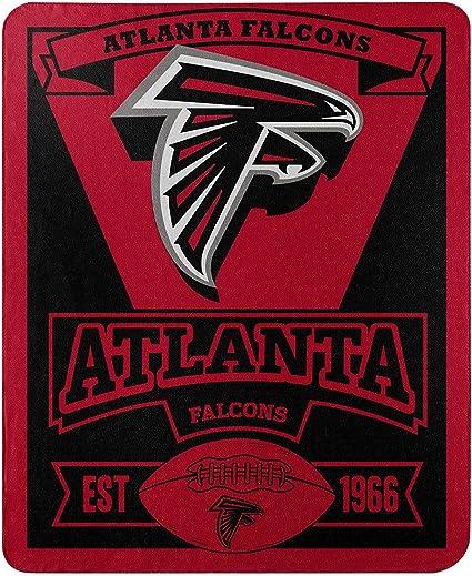 One Size Team Colors Northwest NFL Atlanta Falcons 50x60 Fleece Split Wide DesignBlanket