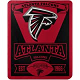 Officially Licensed NFL 'Marque' Printed Fleece Throw Blanket, Multi Color, 50' x 60'