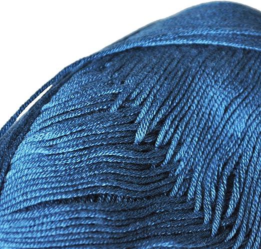 Tencel Bambú Hilados De Algodón Para Bebés (Azul Profunda): Amazon.es: Juguetes y juegos