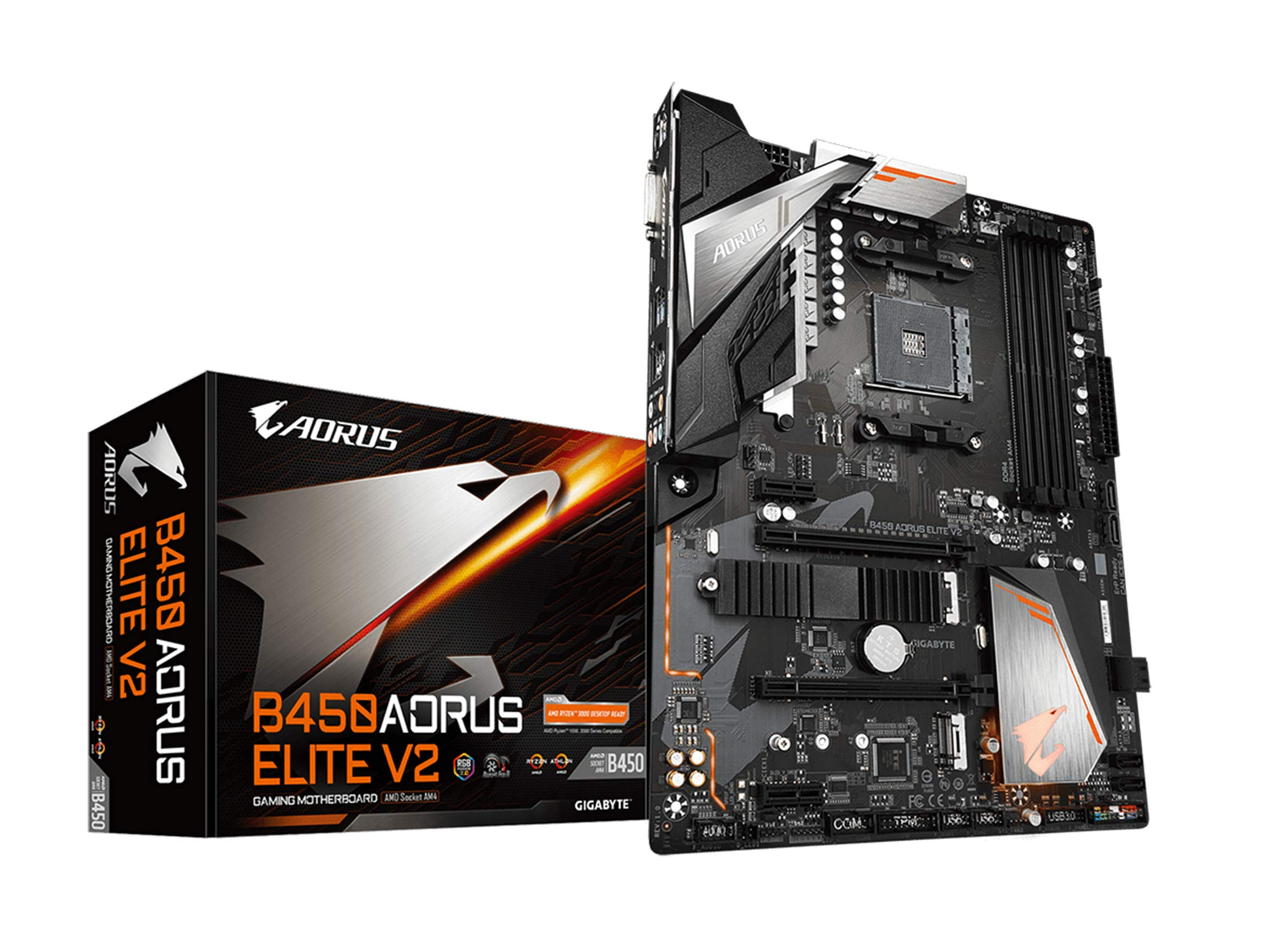 Motherboard Gigabyte B450 AORUS ELITE V2 Socket AM4