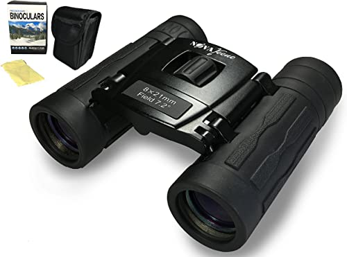 Binoculars for Kids and Adults – Compact 8×21 for Hunting, Birding, Theater, Concerts, and Camping.