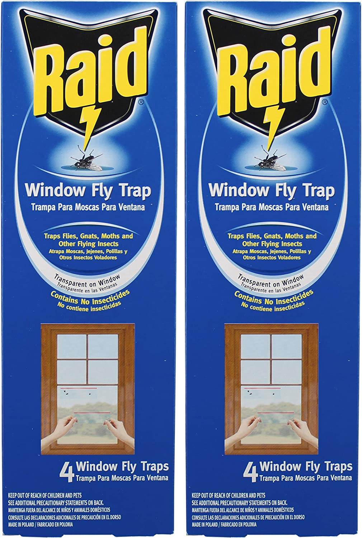 Raid Window Fly Trap(2Pack)