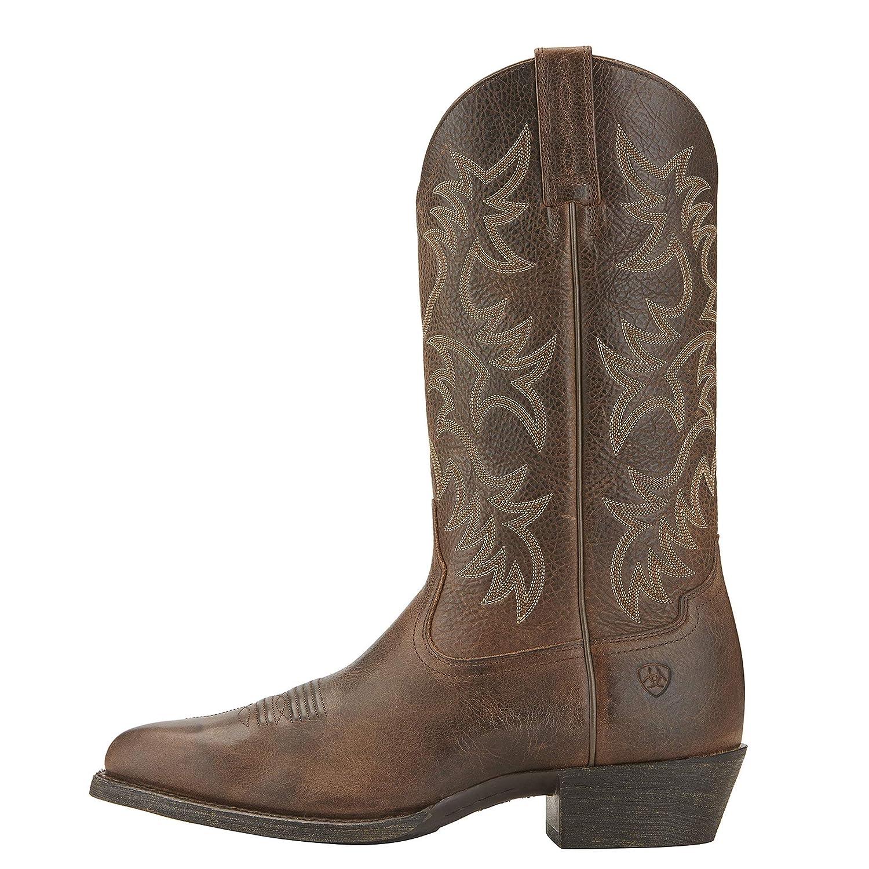 f02086b8807 Ariat Men's Heritage Western R Toe Cowboy Boot