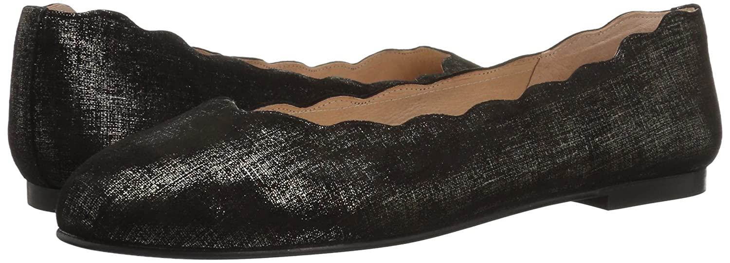 French Ballet Sole FS/NY Women's Jigsaw Ballet French Flat B0711M25VV 5.5 B(M) US|Pewter 63d7b0