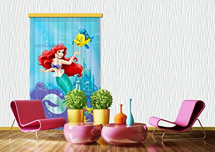 Tende Per Bambini Disney : Tenda tenda fcc l 4112 cameretta disney ariel: amazon.it: casa e cucina