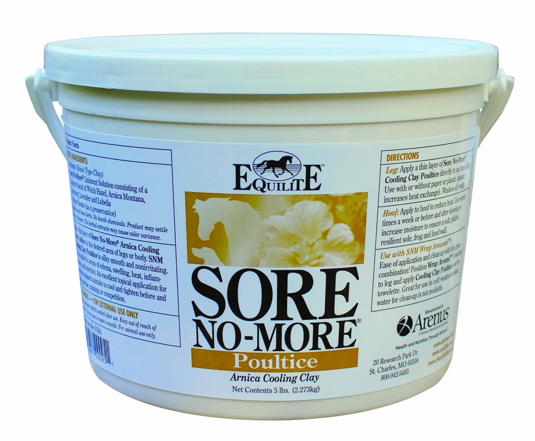 Sore No More Cooling Clay Poultice (5-Pound) by Arenus