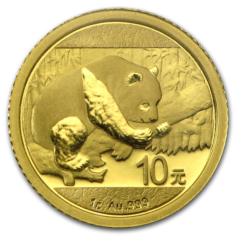 Chinese Gold Panda 30 Gram 2016