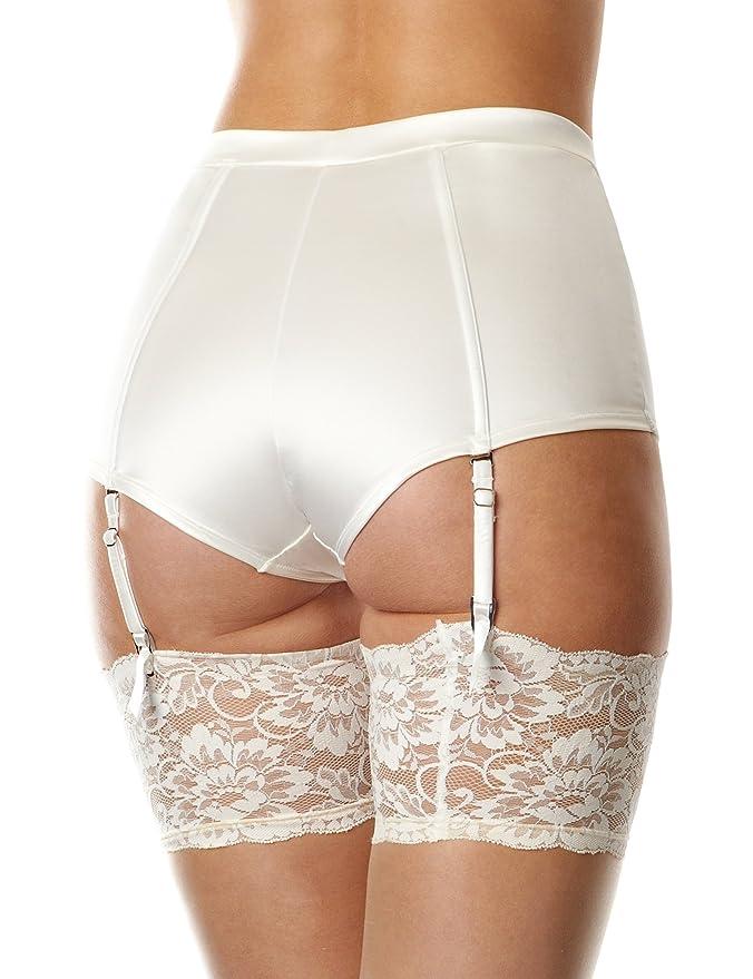 6fcec8ca2148 Masquerade Deity High Waisted Women's Briefs Ivory Size 8: Amazon.co.uk:  Clothing