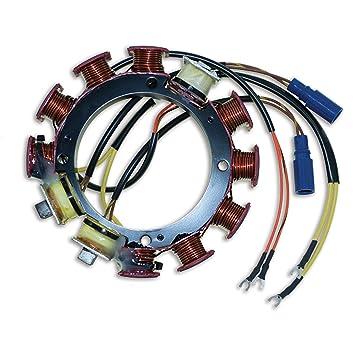 CDI Electronics 173-3724 Johnson//Evinrude Stator 1979-1990 3 Cyl 9 Amp