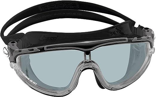 156 opinioni per Cressi Skylight Occhialini Monovento da Nuoto, Unisex Adulto, Lenti a Specchio,
