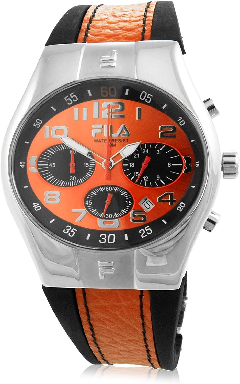 Fila Reloj analógico para Hombre de Cuarzo con Correa en Caucho 7553492-15