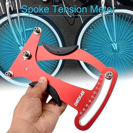 Amazon.com : SODIAL Bicycle Wheel Bike Spoke Tension Meter Indicator Tensiometer Meter Attrezi Builders Tool : Sports & Outdoors