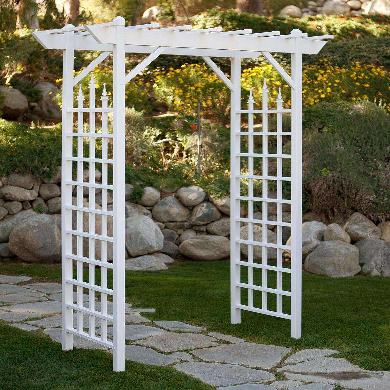 Pérgola husillos ideal para una boda entry-way de jardín o interior Bodas. Este Decorativa para pérgola resistente a la intemperie mejorará Cualquier ...