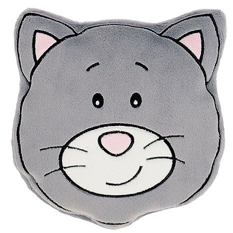 Kryotherm natur Katze Wärmekissen Wärmetier mit Rapssamen Wärmestofftier Kuscheltier Stofftier