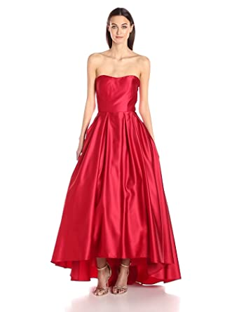 2b869fdcaa9 Amazon.com  Betsy   Adam Women s Strapless Ball Gown  Clothing