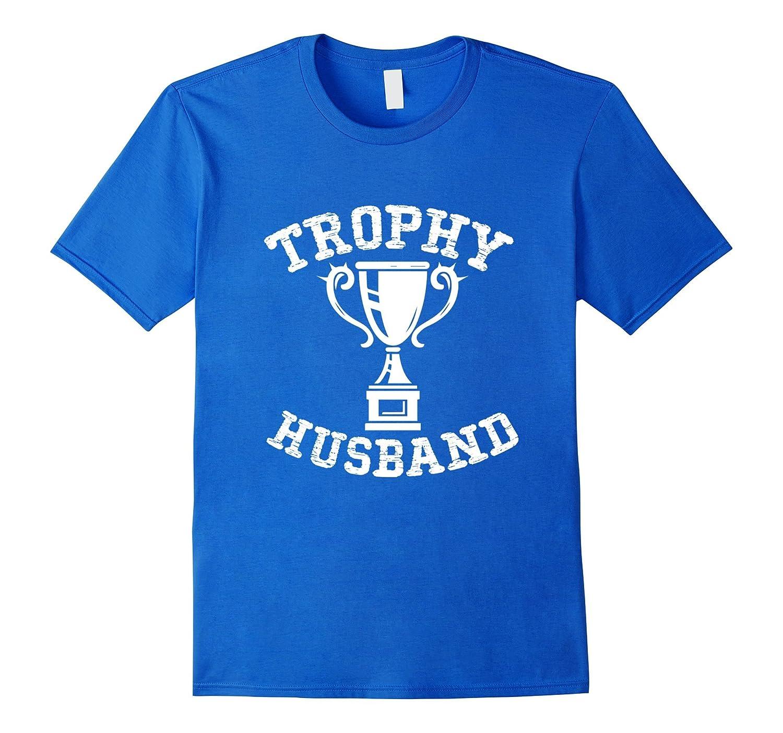 Trophy Husband Funny Shirt Black-Tovacu