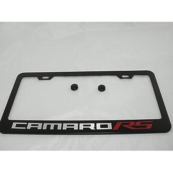 Chevy Camaro RS Chrome License Plate Frame good - eastavonfleamarket.com