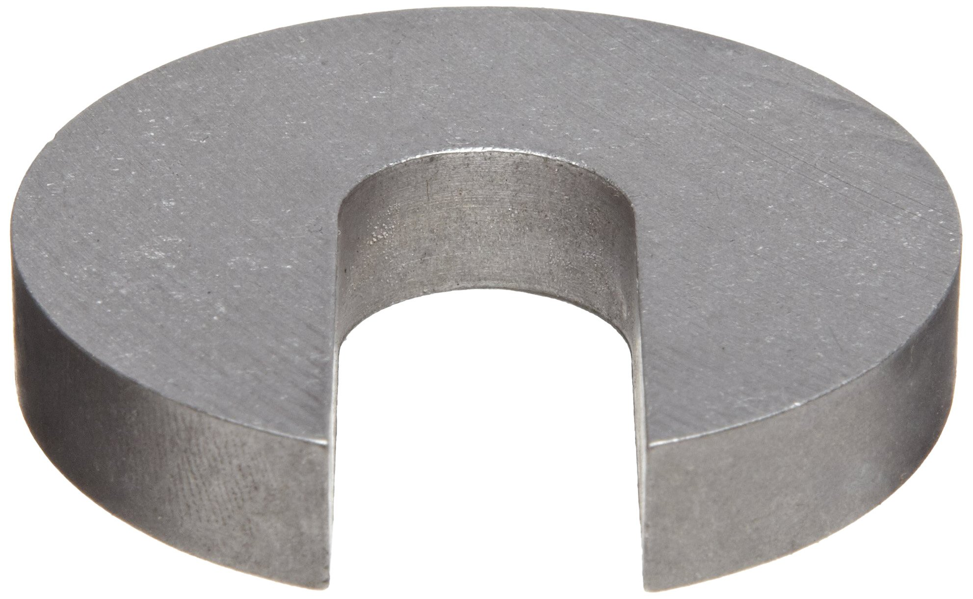 18-8 Stainless Steel Slotted Washer, 1-1/4'' Hole Size, 0.406'' ID, 1.750'' OD, 0.375'' Nominal Thickness, Made in US