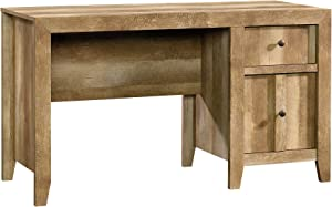 "Sauder Stone Valley Desk, L: 53.15"" x W: 21.5"" x H: 30.0"", Craftsman Oak"