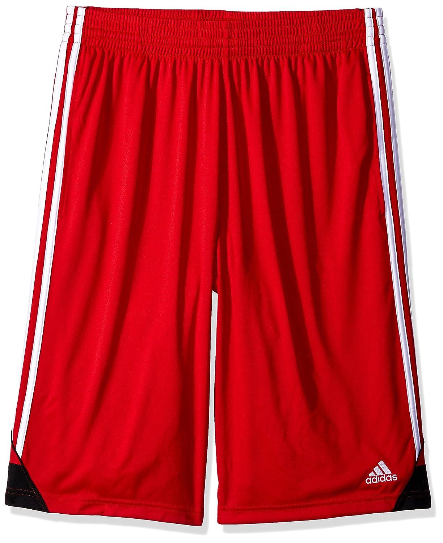 Adidasメンズ3Gスピード ビッグ&トール ショートパンツ B01N0SWL3O 3X-Large|スカーレット/ホワイト スカーレット/ホワイト 3X-Large