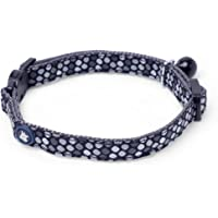 Petface Blue with Mixed Heart Motifs Cat Collar