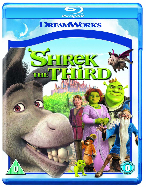 Amazon Com Shrek The Third Blu Ray 2007 Movies Tv