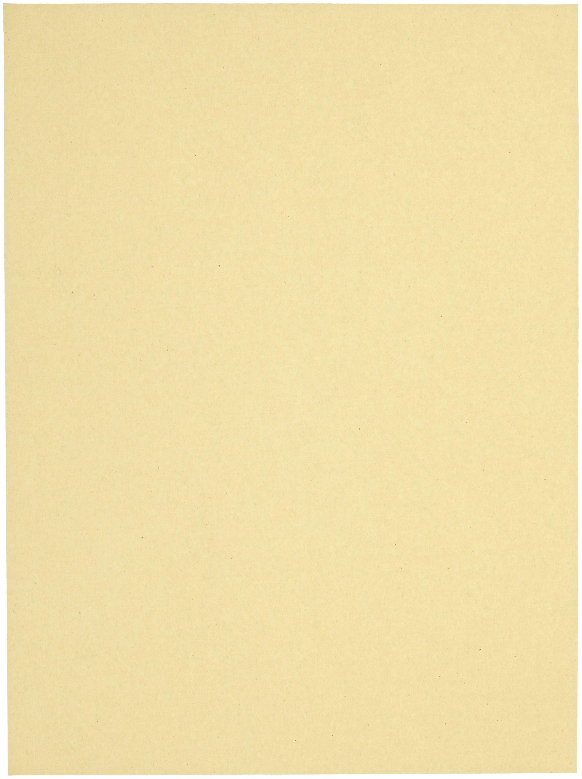 Sax Multi-Purpose Drawing Paper, 56 lbs, 9 x 12 Inches, Manila Cream, Pack of 500 - 085559