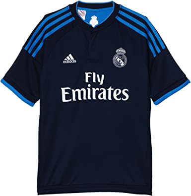 adidas Trikot Real Madrid Replica Ausweich Camiseta Tercera equipación, Niño, Azul (Aninoc/Azubri), 176: Amazon.es: Zapatos y complementos