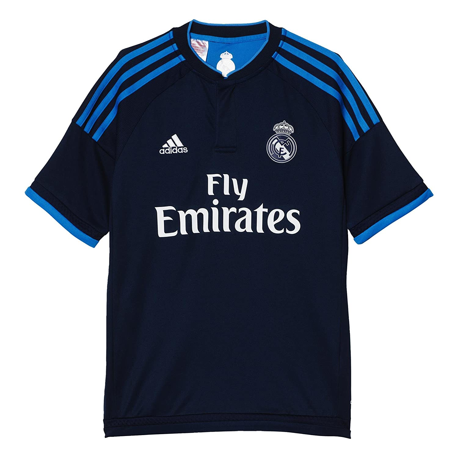 2015-2016 Real Madrid Adidas Third Shirt (Kids) B00W5IX8L8Navy Small Boys 26-28\