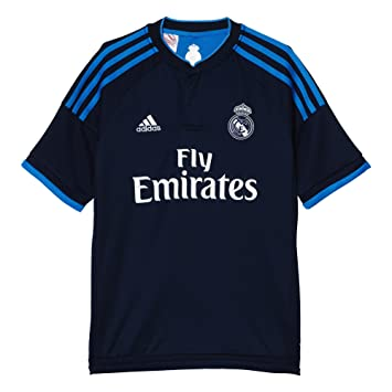 Adidas 3ª Equipación Real Madrid CF - Camiseta Oficial niño, Talla 140